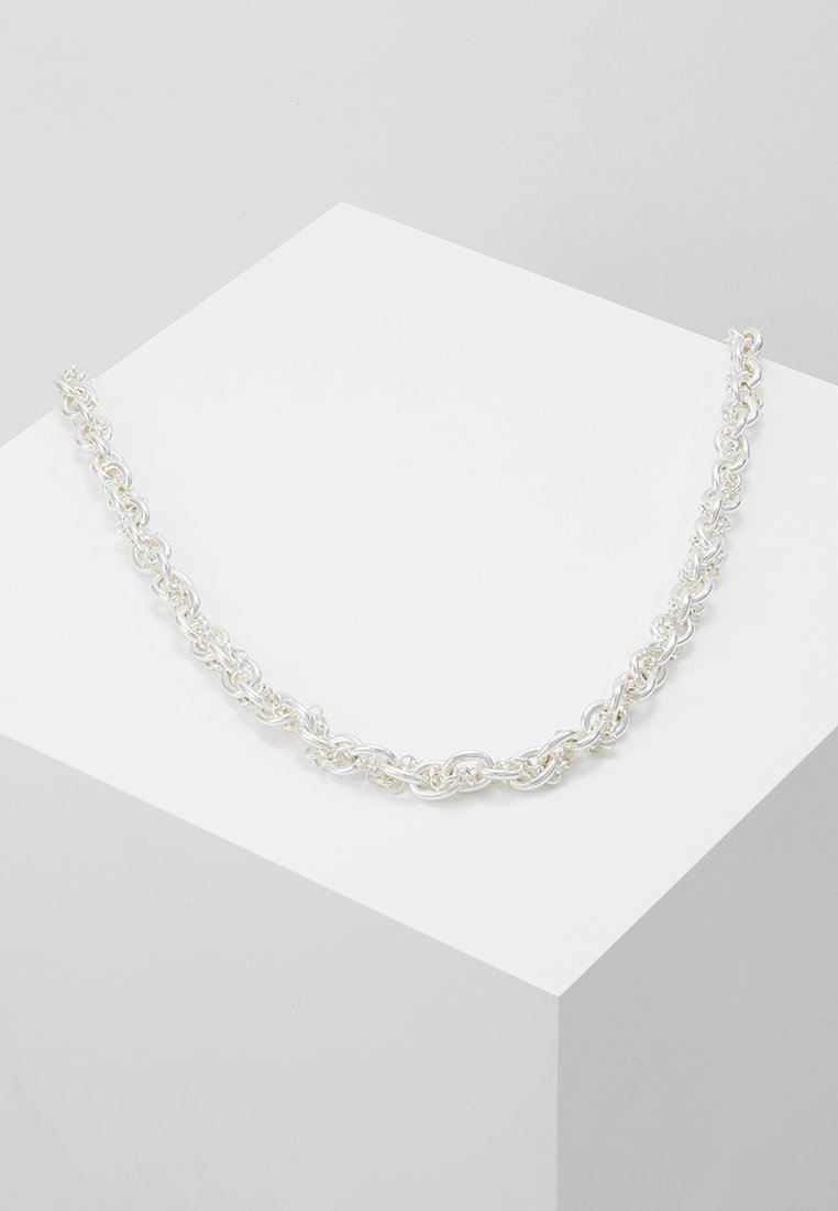 SNÖ of Sweden - SPIKE - Ketting - plain silver coloured