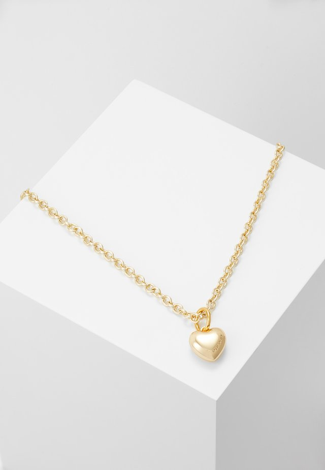 Necklace - goldcoloured