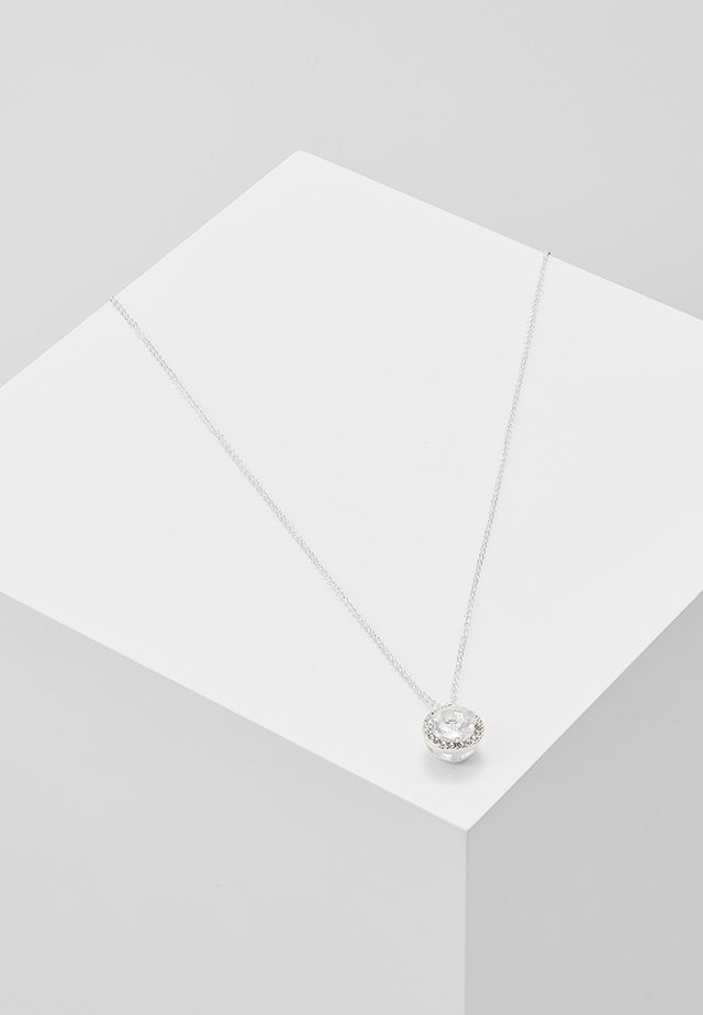 LISSY PENDANT NECK  - Necklace - clear/silver-coloured