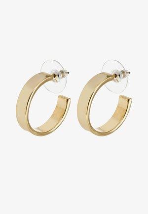 CARRIE EAR PLAIN - Kolczyki - gold-coloured