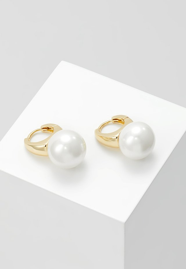GRACIE SHORT EAR - Earrings - white