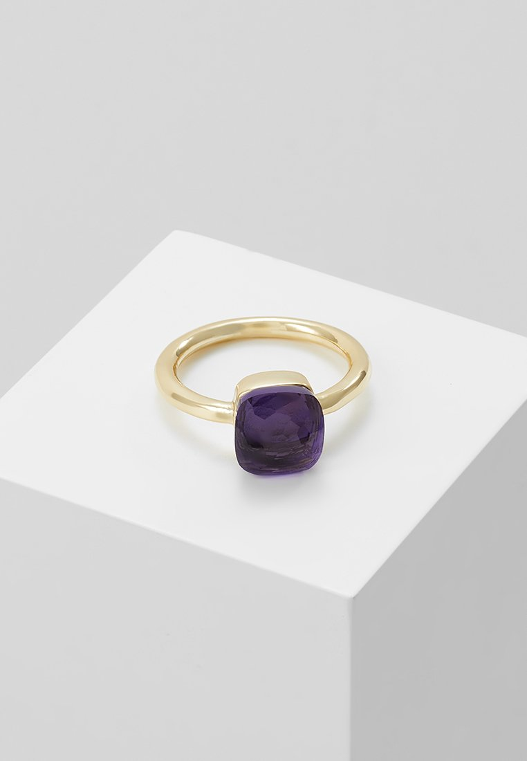 SNÖ of Sweden - HATT  - Ring - gold-coloured/purple