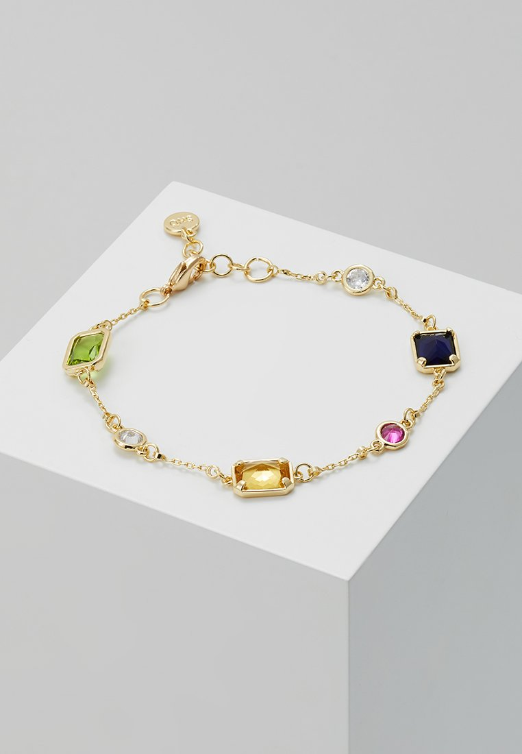 SNÖ of Sweden - TWICE CHAIN BRACE  - Armband - gold-coloured