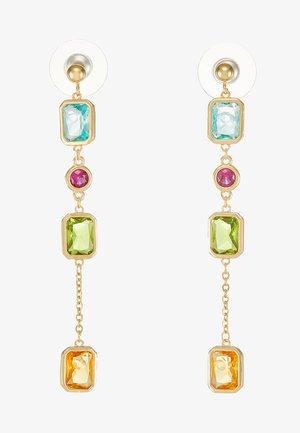 TWICE LONG EAR - Earrings - gold-coloured