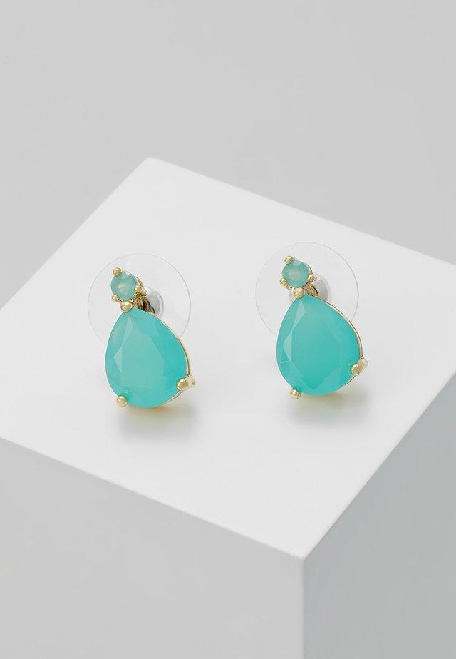 JUDITH SMALL DROP EAR - Ohrringe - turquoise