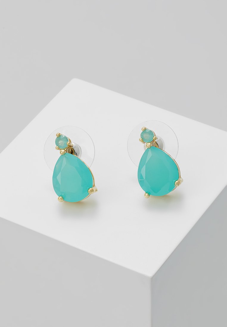 SNÖ of Sweden - JUDITH SMALL DROP EAR - Øreringe - turquoise