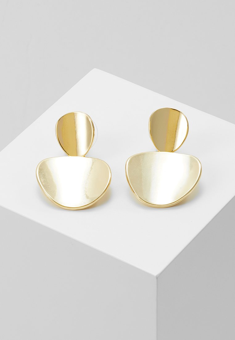 SNÖ of Sweden - AVERY PENDANT EAR  - Earrings - gold-coloured