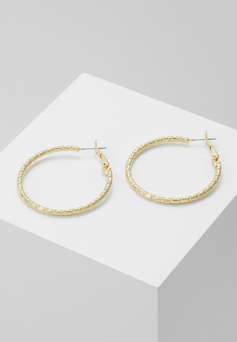 SNÖ of Sweden - CAPELLA RING EAR PLAIN - Ohrringe - gold-coloured