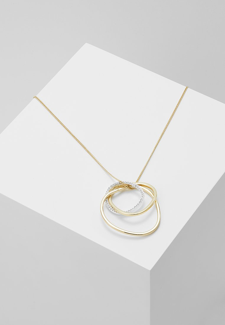 SNÖ of Sweden - HOUR PENDANT NECK - Collar - gold-coloured/clear