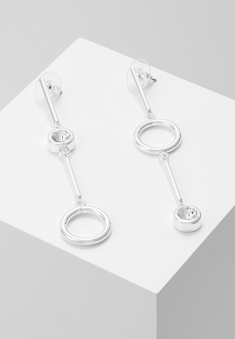 SNÖ of Sweden - KEIRA LONG PENDANT EAR - Earrings - silver-coloured