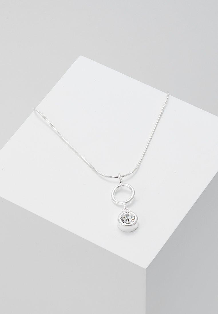 SNÖ of Sweden - KEIRA SHORT PENDANT NECK - Necklace - silver-coloured