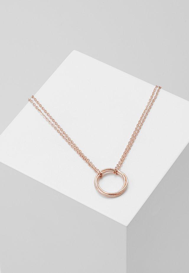 MILA PENDANT NECK - Necklace - rosé