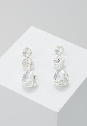 NOVALIE PENDANT EAR CLEAR - Boucles d'oreilles - clear