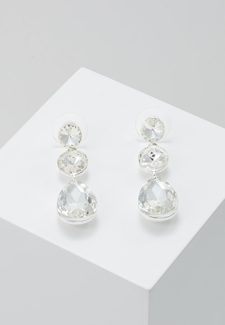 SNÖ of Sweden - NOVALIE PENDANT EAR CLEAR - Boucles d'oreilles - clear