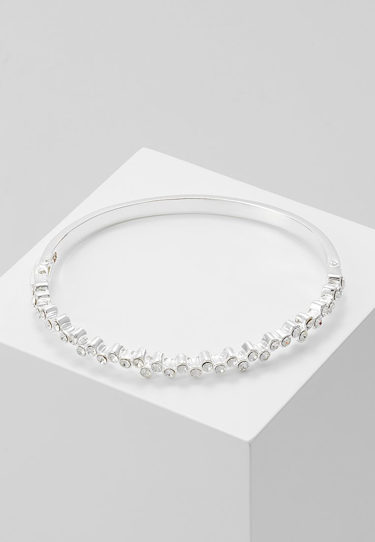 SNÖ of Sweden - KAIRO SMALL OVAL BRACE - Bracciale - silver-coloured/clear