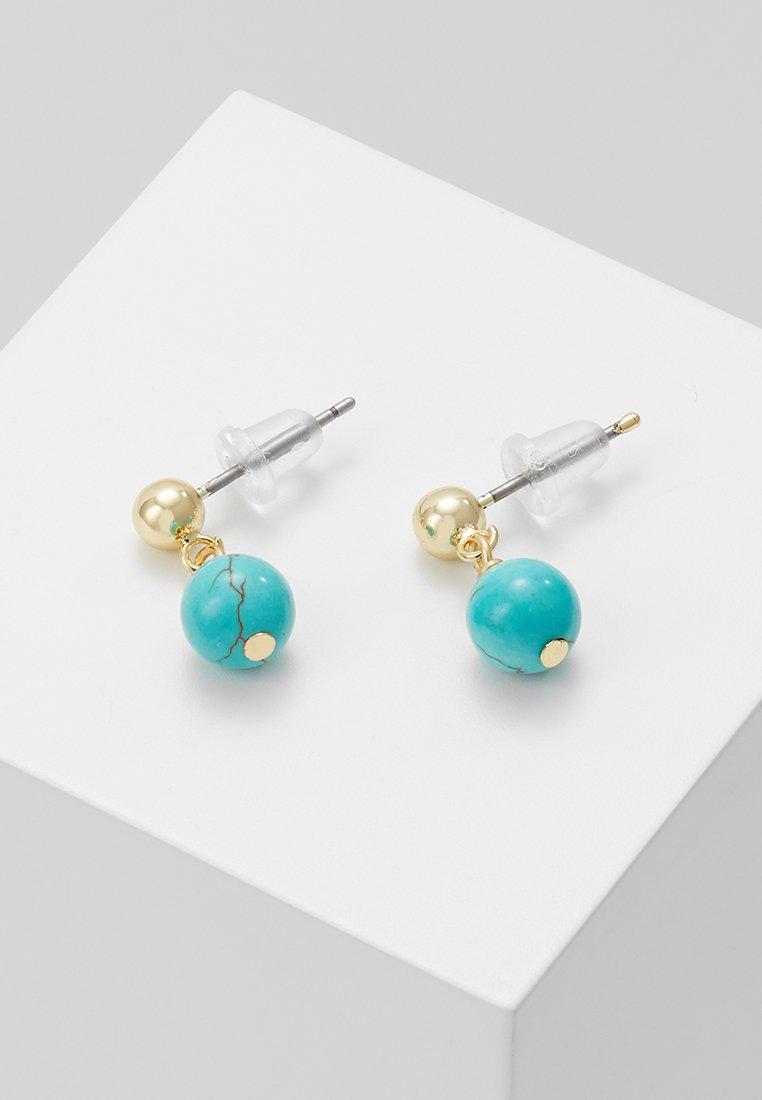 SNÖ of Sweden - RIMII SHORT EAR - Earrings - turquoise