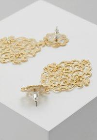 SNÖ of Sweden - RIMII PENDANT EAR PLAIN - Earrings - gold-coloured - 2