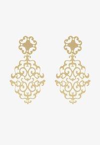 SNÖ of Sweden - RIMII PENDANT EAR PLAIN - Earrings - gold-coloured - 3