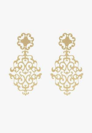 RIMII PENDANT EAR PLAIN - Earrings - gold-coloured