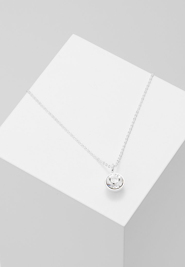 SNÖ of Sweden - CAROLINE SMALL PENDANT NECK - Necklace - silver-coloured