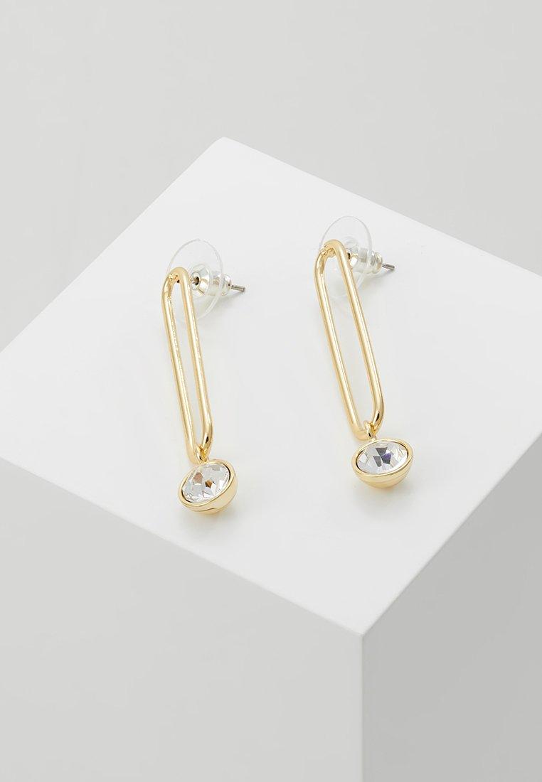 SNÖ of Sweden - CAROLINE LONG PENDANT EAR - Earrings - gold-coloured