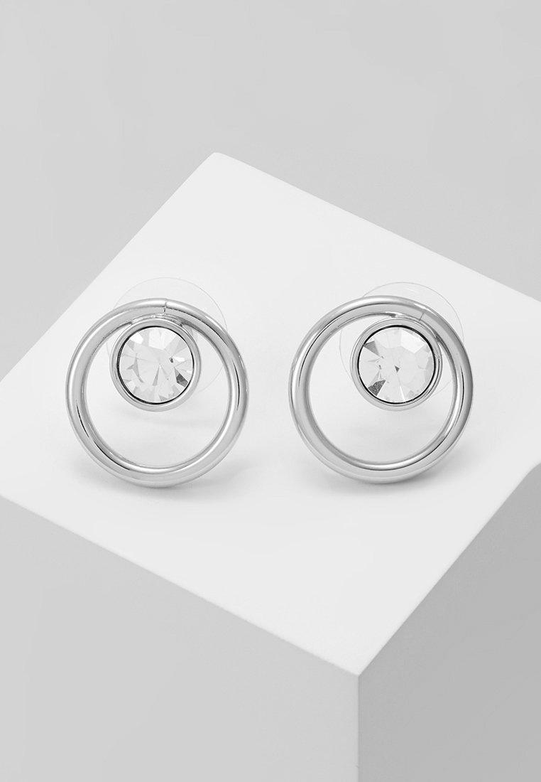 SNÖ of Sweden - CAROLINE GLOBE EAR  - Earrings - silver-coloured