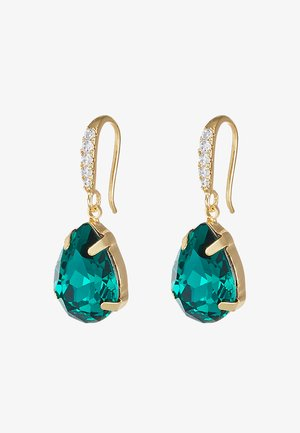 BIRGIT PENDANT EAR - Earrings - green