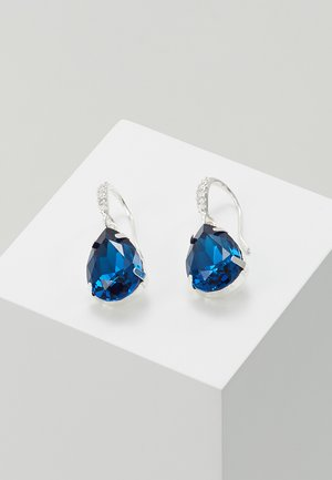 BIRGIT STONE PENDANT EAR - Pendientes - silver-coloured/blue