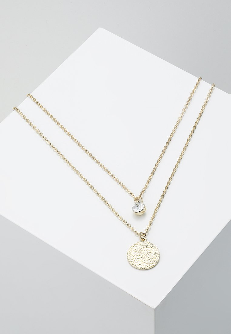 SNÖ of Sweden - PENNY COIN DOUBLE NECK  - Necklace - gold-coloured