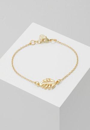HYDE LEAF CHAIN BRACE - Armband - gold-coloured
