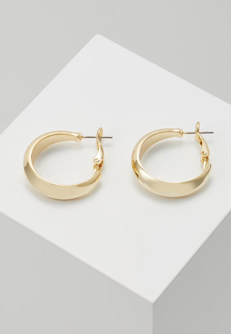 SNÖ of Sweden - HYDE OVAL EAR  - Kolczyki - gold-coloured