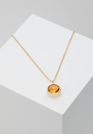 ELDINA PENDANT NECK - Necklace - gold-coloured/orange