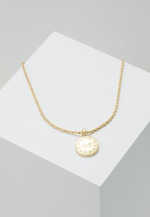 MADELEINE PENDANT NECK - Ketting - gold-coloured