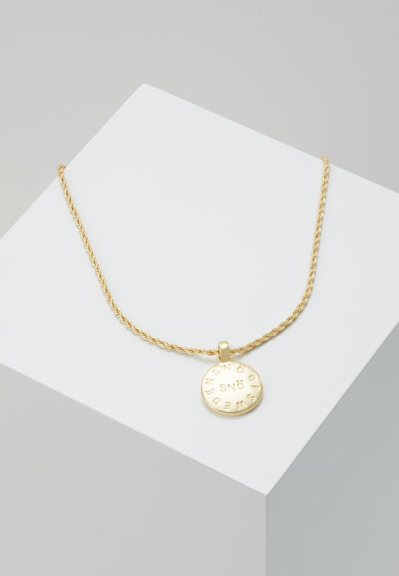 SNÖ of Sweden - MADELEINE PENDANT NECK - Kaulakoru - gold-coloured