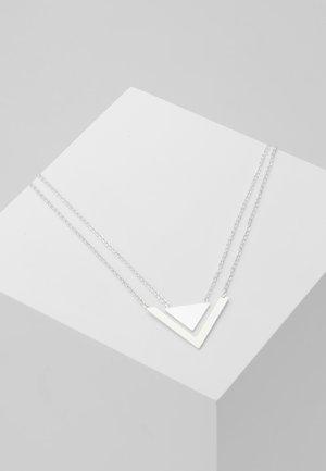 PATH DOUBLE PENDANT NECK - Kaulakoru - silver-coloured