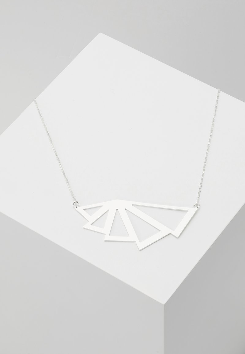 SNÖ of Sweden - PATH NECK - Ketting - plain silver-coloured