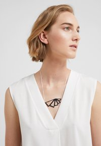 SNÖ of Sweden - PATH NECK - Ketting - plain silver-coloured - 1