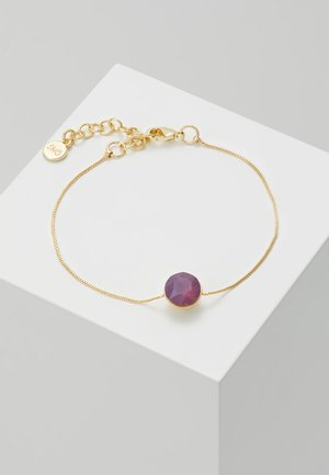 LIW SMALL BRACE - Bracelet - gold-coloured/purple