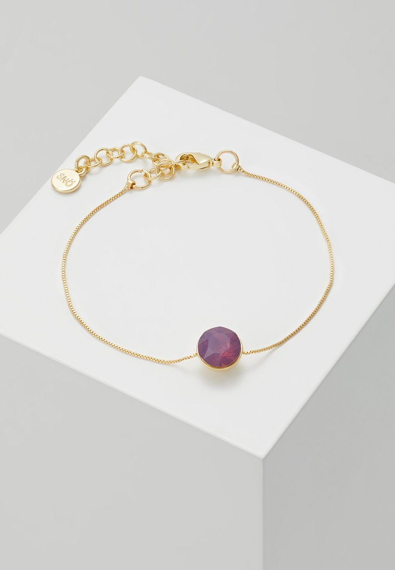 SNÖ of Sweden - LIW SMALL BRACE - Armband - gold-coloured/purple