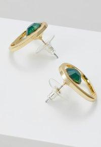SNÖ of Sweden - LIW GLOBE EAR - Boucles d'oreilles - gold-coloured/green - 2