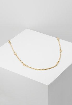 TURN CHAIN NECK - Halskette - gold-coloured