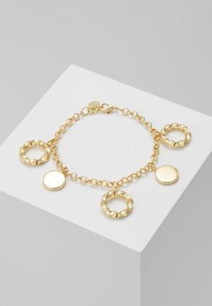 TURN CHARM BRACE - Rannekoru - gold-coloured