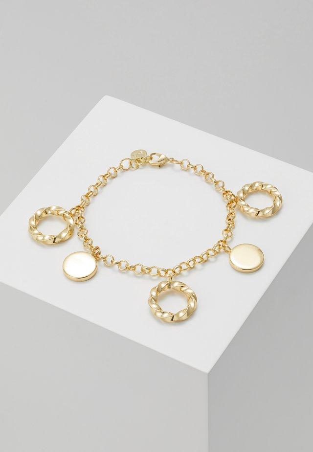 TURN CHARM BRACE - Bracelet - gold-coloured