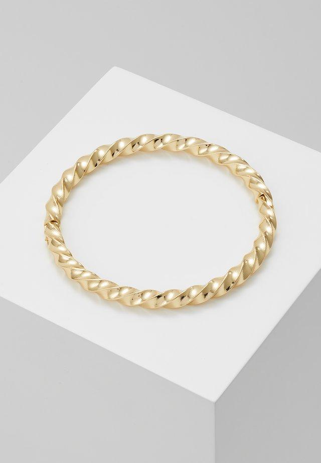 TURN ROUND BRACE  - Bransoletka - gold-coloured