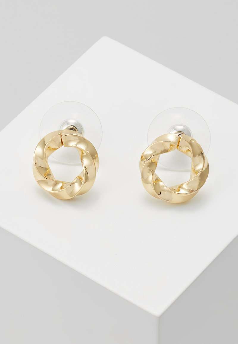 SNÖ of Sweden - TURN SMALL EAR - Pendientes - gold-coloured