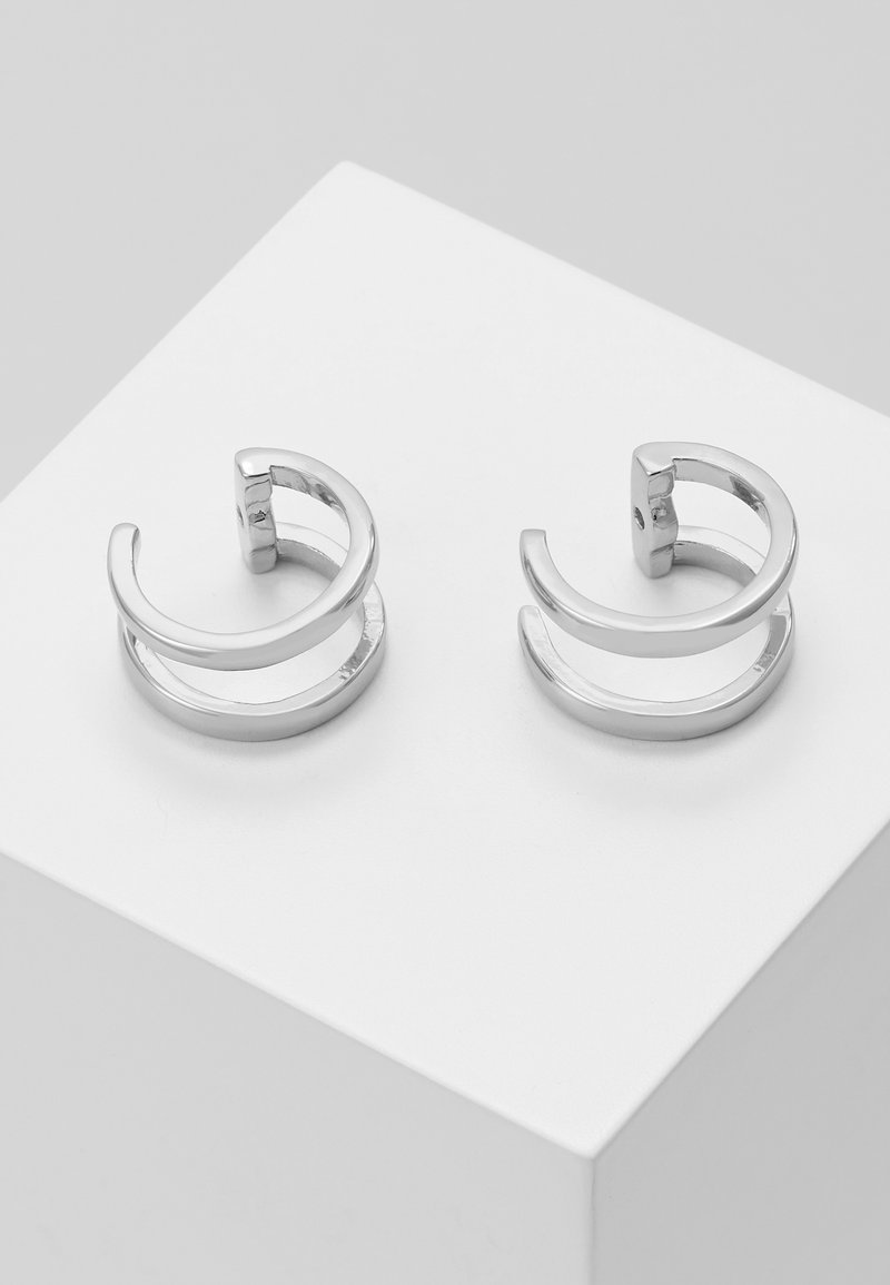 SNÖ of Sweden - METTE CUFF EAR - Pendientes - silver-coloured
