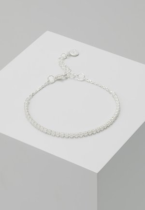 CLARISSA SMALL BRACE - Bracciale - silver-coloured/clear