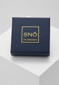 SNÖ of Sweden - BELIZE HEART PENDANT PLAIN SET - Earrings - silver-coloured - 3