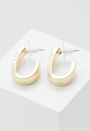 BRIDGET WIDE OVAL EAR - Oorbellen - gold-coloured