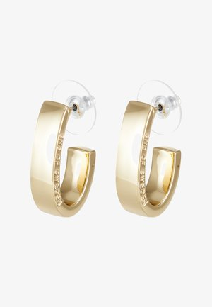 BRIDGET WIDE OVAL EAR - Oorbellen - gold-coloured